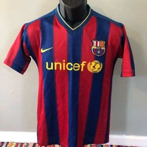 Nike Shirts & Tops - Nike FC Barcelona Soccer Jersey Ibrahimovic 9 FCB